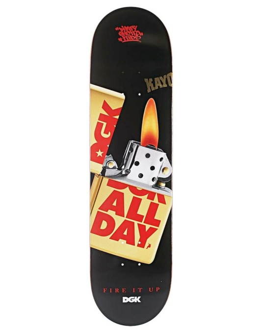 DGK Fire it Up Team Deck - 8.1""