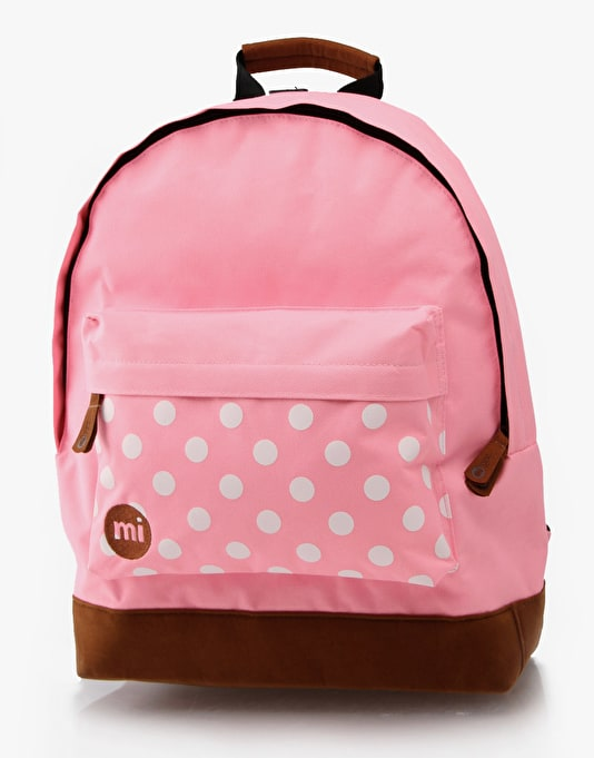 Mi-Pac Polka Dot Backpack - Pink
