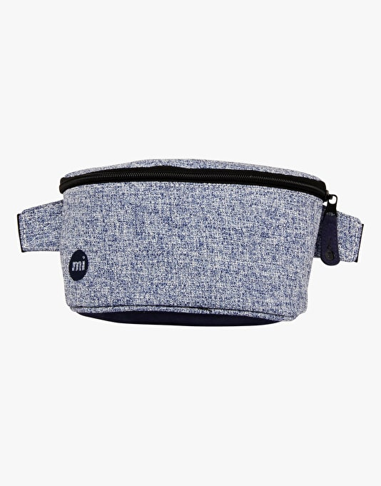 Mi-Pac Crepe Bum Bag - Blue