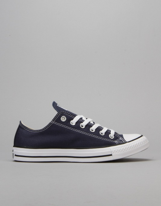 Converse All Star Lo Plimsolls - Navy
