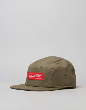 Mitchell & Ness 5 Panel Cap - Olive
