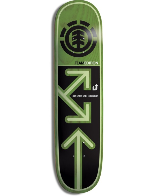 Element Drop Down Logo Highlight Team Deck - 7.75""