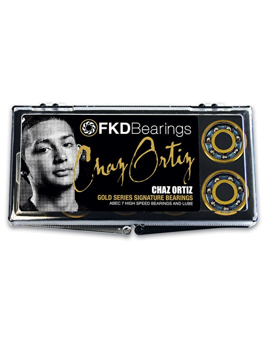 FKD Ortiz Gold Series ABEC 7 Pro Bearings