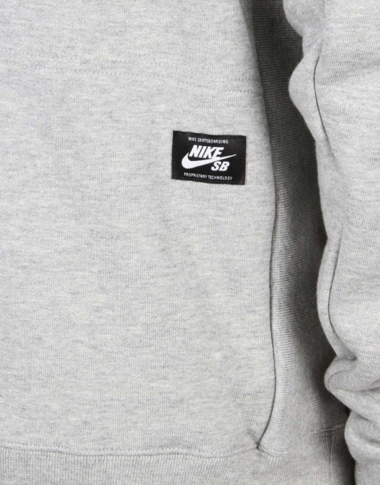 Nike SB Everett Graphic Crew Top Sweatshirt - Dk Gry/Heather/Obsdn/Rio