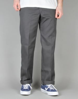 Dickies 873 Slim Work Pants - Charcoal