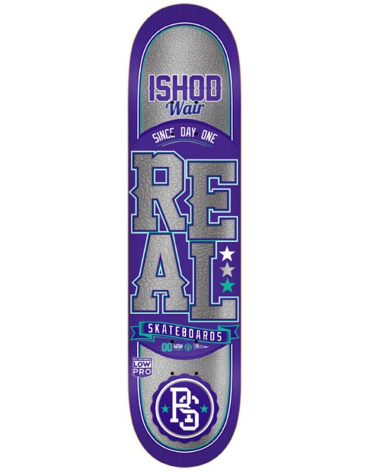 Real Wair Lock Up Chrome Low Pro Pro Deck - 8.12""