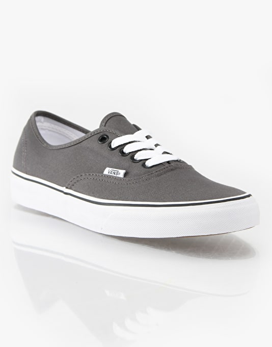 Vans Authentic Skate Shoes - Pewter/Black