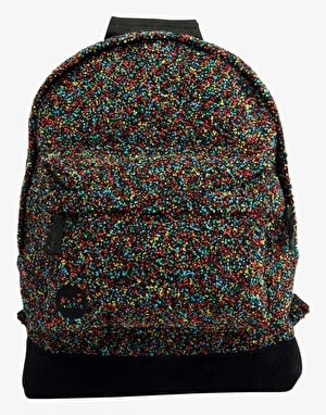 Mi-Pac Boucle Backpack - Black/Multi