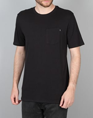 Nike SB Wave T-Shirt - Black/Black/White