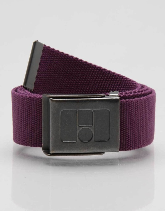 Route One Basic Web Belt - Purple Passion