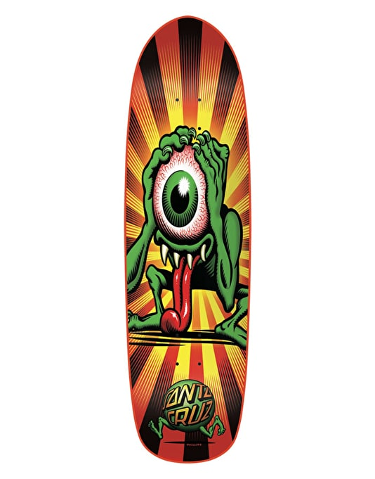Santa Cruz Eyegore Retro Team Deck - 9""