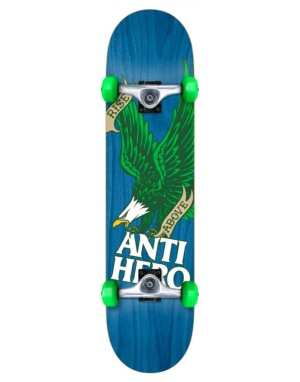 Anti Hero Rise Above Woodgrain Complete - 7.5