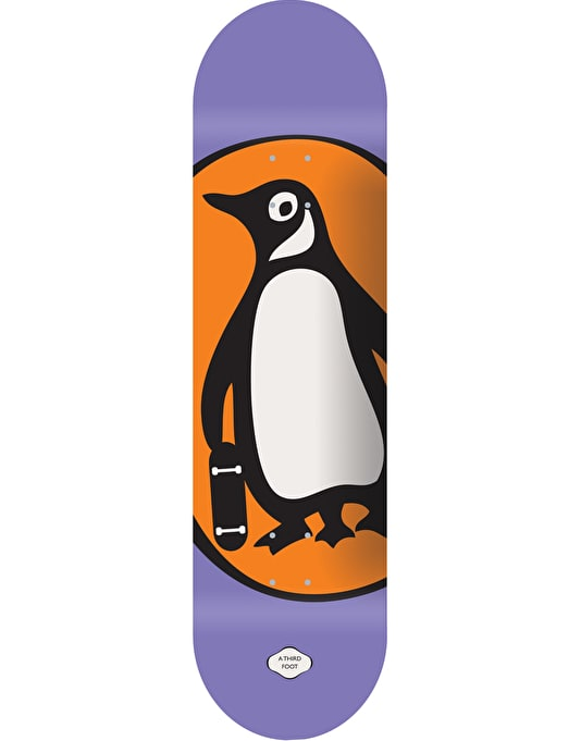 A Third Foot Penguin Team Deck - 8.5""