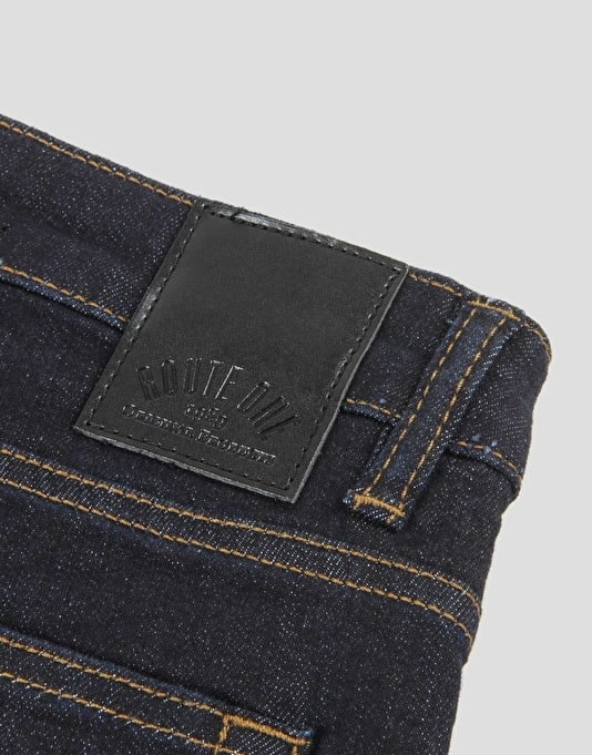 Route One Skinny Fit Boys Jeans - Raw