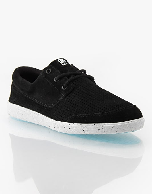 DC Pool LE Skate Shoes - Black/Splatter
