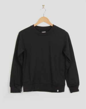 Route One Boys Basic Crewneck Sweat - Black