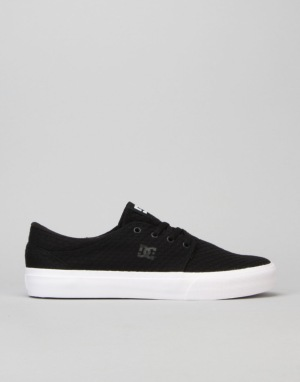 DC Trase TX SE Skate Shoes - Black