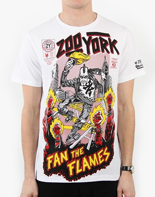 Zoo York Fan The Flames T-Shirt