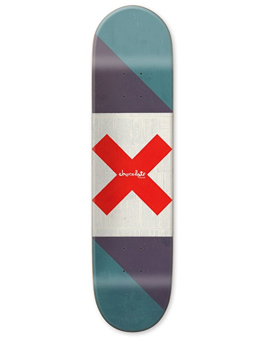 Chocolate Roberts Battle Flag Pro Deck - 8""