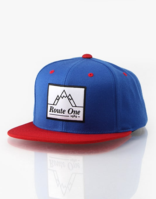 Route One x Starter Mountain Logo Snapback Cap