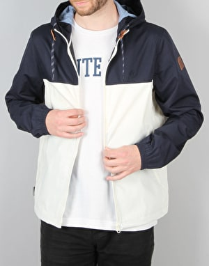 Element Alder 2 Tones Jacket - Bone White