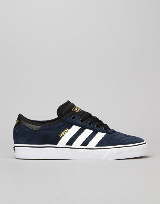 Adidas Adi-Ease Premiere Skate Shoes - Collegiate Navy/White/Black