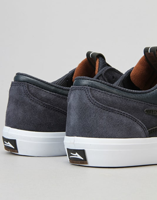 Lakai Griffin Skate Shoes - Midnight Suede