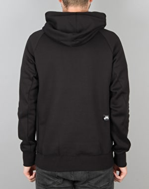 Nike SB Icon Dots Pullover Hoodie - Black/White
