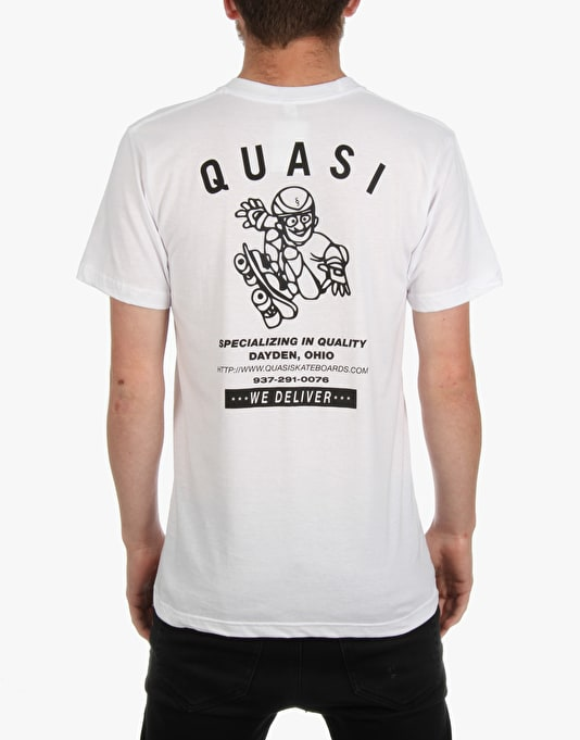 Quasi HVAC T-Shirt - White