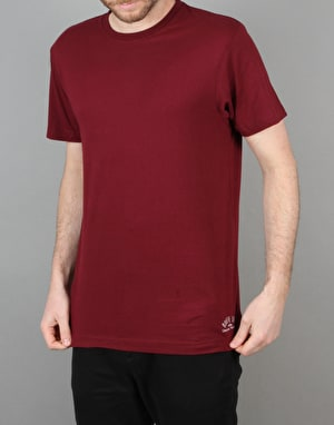 Route One Basic T-Shirt- Red