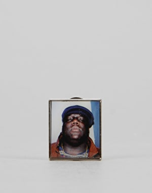 Primitive x Notorious B.I.G. Biggie Lapel Pin - Multi