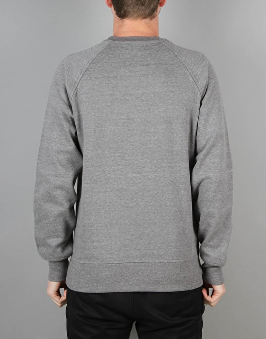 Route One Basic Sweatshirt - Dark Heather Marl