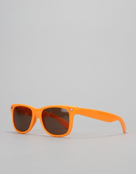 Chocolate Chunk Sunglasses - Orange