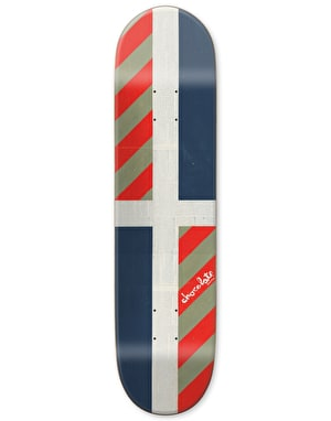 Chocolate Perez Battle Flag Pro Deck - 8.25