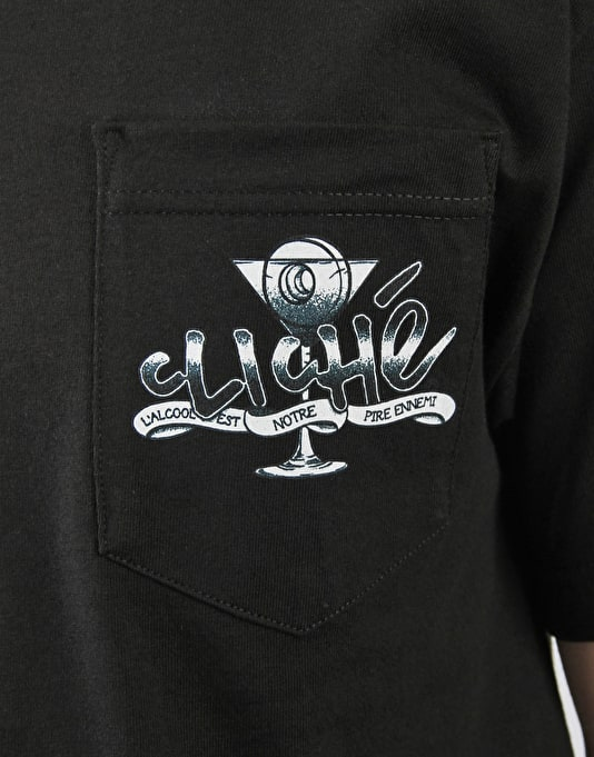 Cliché Drink Tattoo T-Shirt