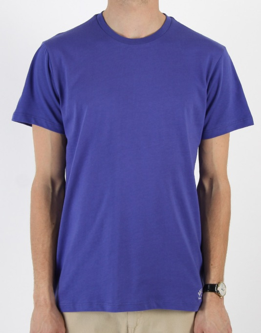 Route One Basic T-Shirt- Indigo