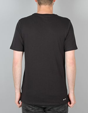 Nike SB Icon Seat Cover T-Shirt- Black/Black