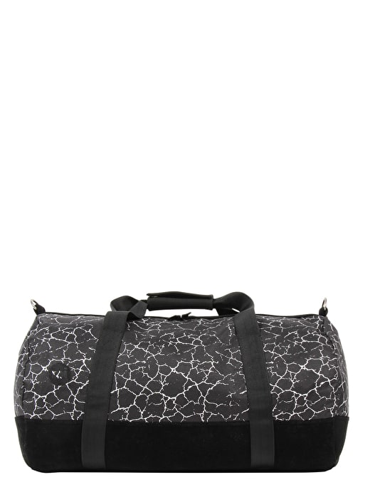 Mi-Pac Cracked Duffel Bag - Black/Silver