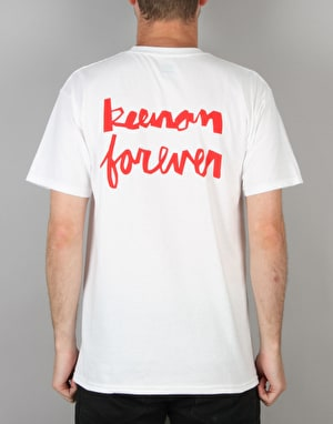 HUF x Chocolate Keenan Forever T-Shirt - White