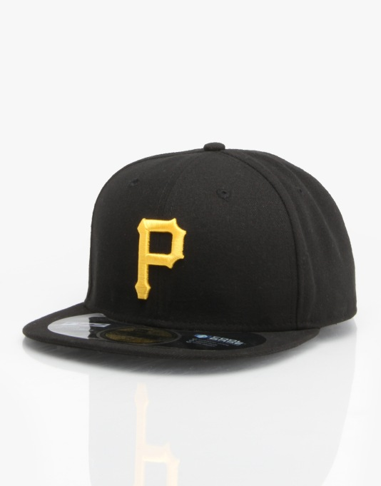 New Era MLB Pittsburgh Pirates Authentic Fitted Cap
