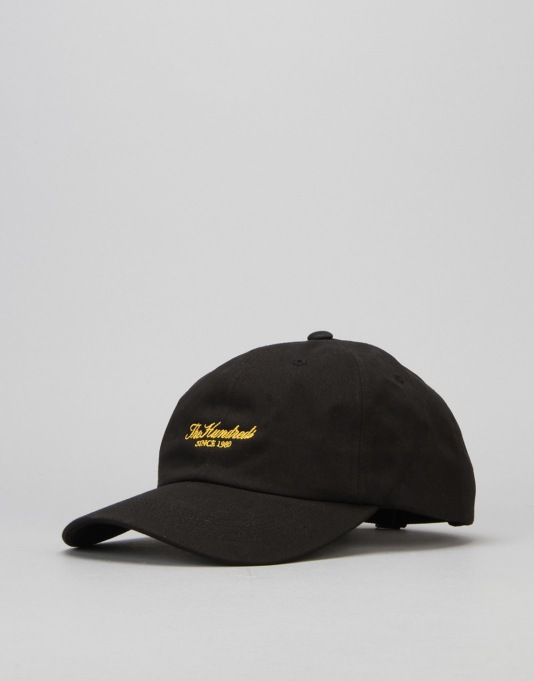 The Hundreds Rich Cap - Black