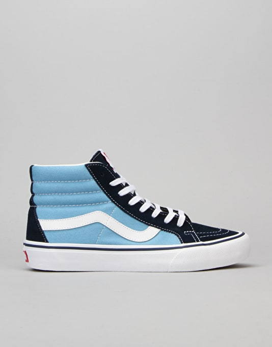 Vans Sk8-Hi Reissue Pro Skate Shoes - 86 Navy/White