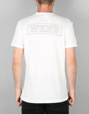 WKND Wire Frame T-Shirt - White
