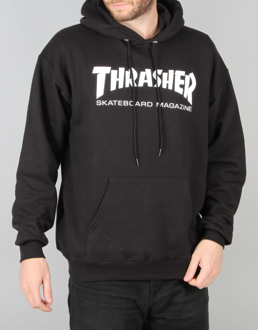 thrasher skate mag pullover hoodie black skate. Black Bedroom Furniture Sets. Home Design Ideas