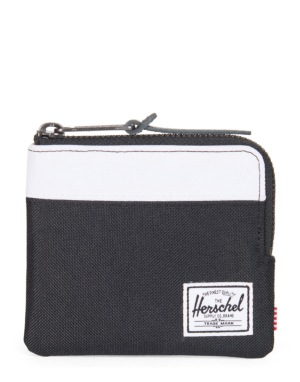 Herschel Supply Co. Johnny Wallet - Black/White