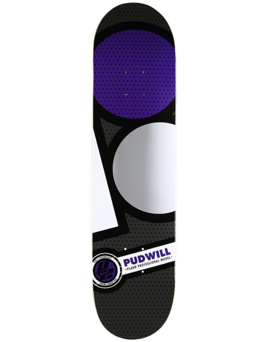 Plan B Pudwill Graphite P2 Pro Deck - 7.875""