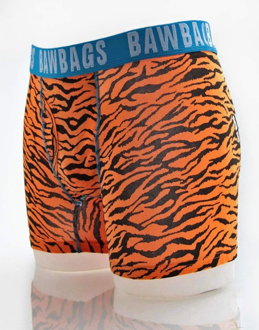 Bawbags Tiger Boxer Shorts