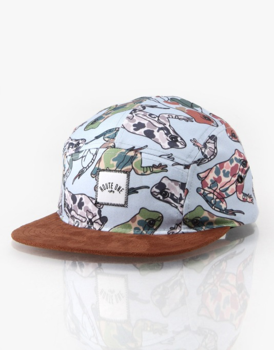 Route One Frogs Legs 5 Panel Cap
