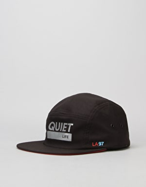 The Quiet Life League 5 Panel Cap - Black
