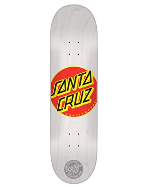 Santa Cruz Classic Dot Team Deck - 7.7